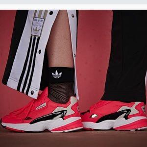 Adidas Falcon red sneaker